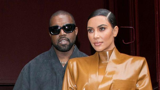 PHOTO: Kim Kardashian West and husband Kanye West leave an event during Paris Fashion Week on March 1, 2020, in Paris. (WireImage via Getty Images, FILE)