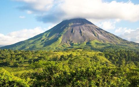 the Arenal volcano - Credit: istock