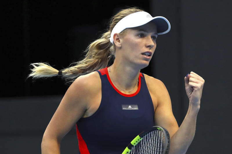 Wozniacki struggles in WTA title defence; Svitolina wins