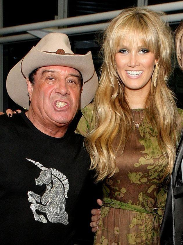Delta and Molly pictured in 2009. Source: Getty Images.