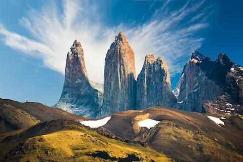 Torres del Paine - Credit: getty