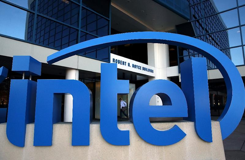Intel says it has made quick progress with updating vulnerable chips (AFP Photo/JUSTIN SULLIVAN)