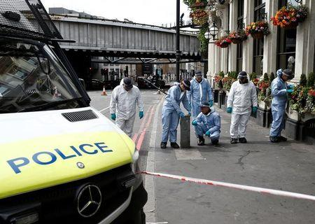 Concrete barriers placed throughout London following attack