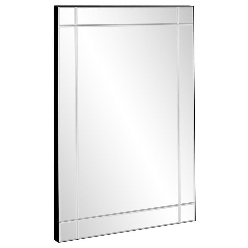 <p>Add an accent mirror like the <span>Best Choice Products 36x24in Rectangular Bedroom Bathroom Entryway Decorative Frameless Wall Mirror</span> ($55, originally $118) to your wall. It's decor that's functional.</p>