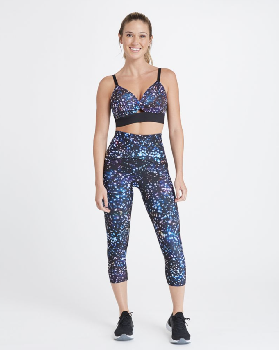 Booty Boost Active Printed Cropped Leggings (Photo via Spanx)