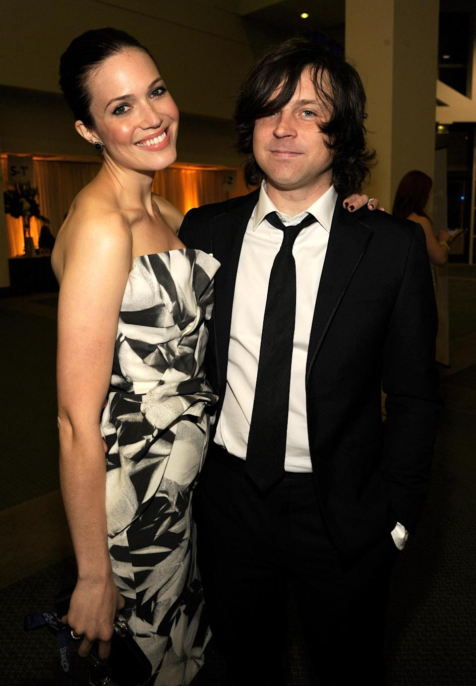 Mandy Moore and Ryan Adams in 2012. (Photo: Kevin Mazur/WireImage)
