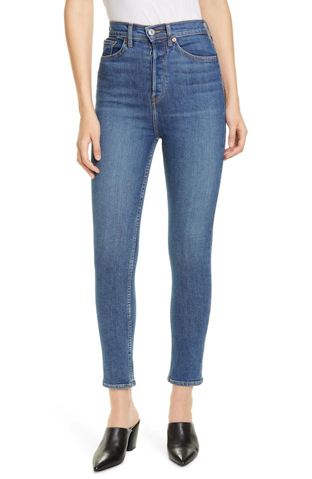 """<p>I paired it with these <a href=""""https://www.popsugar.com/buy/ReDone-Ultra-High-Rise-Ankle-Skinny-Jeans-541544?p_name=Re%2FDone%20Ultra%20High%20Rise%20Ankle%20Skinny%20Jeans&retailer=shop.nordstrom.com&pid=541544&price=240&evar1=fab%3Aus&evar9=47120329&evar98=https%3A%2F%2Fwww.popsugar.com%2Ffashion%2Fphoto-gallery%2F47120329%2Fimage%2F47120332%2FReDone-Ultra-High-Rise-Ankle-Skinny-Jeans&list1=shopping%2Cbanana%20republic%2Cblazers%2Cjackets%2Ceditors%20pick%2Cproduct%20reviews&prop13=mobile&pdata=1"""" rel=""""nofollow"""" data-shoppable-link=""""1"""" target=""""_blank"""" class=""""ga-track"""" data-ga-category=""""Related"""" data-ga-label=""""https://shop.nordstrom.com/s/re-done-ultra-high-rise-ankle-skinny-jeans-medium-fade/5390643/full?origin=keywordsearch-personalizedsort&amp;breadcrumb=Home%2FAll%20Results&amp;color=medium%20fade"""" data-ga-action=""""In-Line Links"""">Re/Done Ultra High Rise Ankle Skinny Jeans</a> ($240). They fit me like a glove and are totally worth the splurge.</p>"""