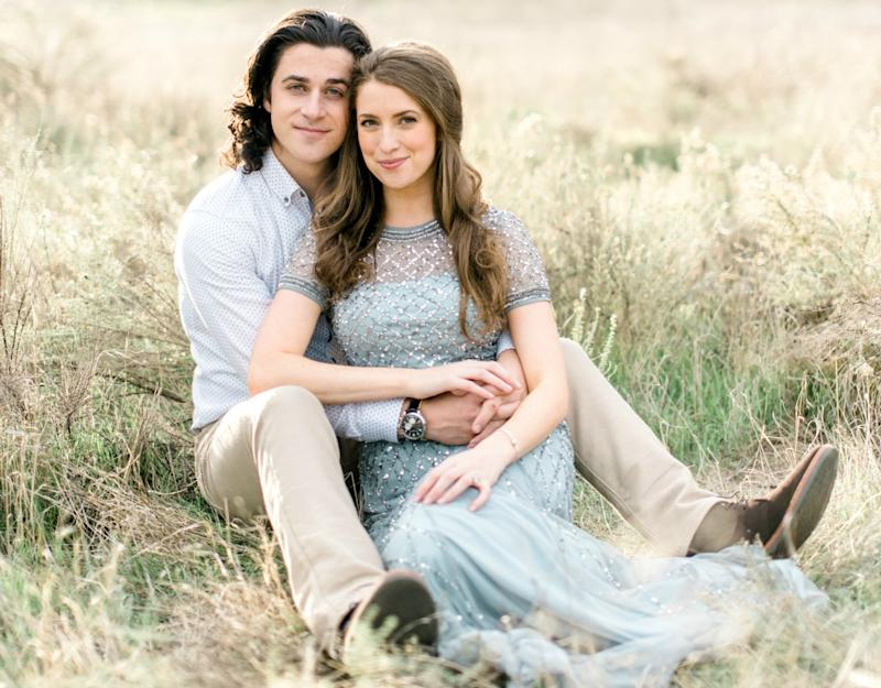 David Henrie, Maria Cahill get married