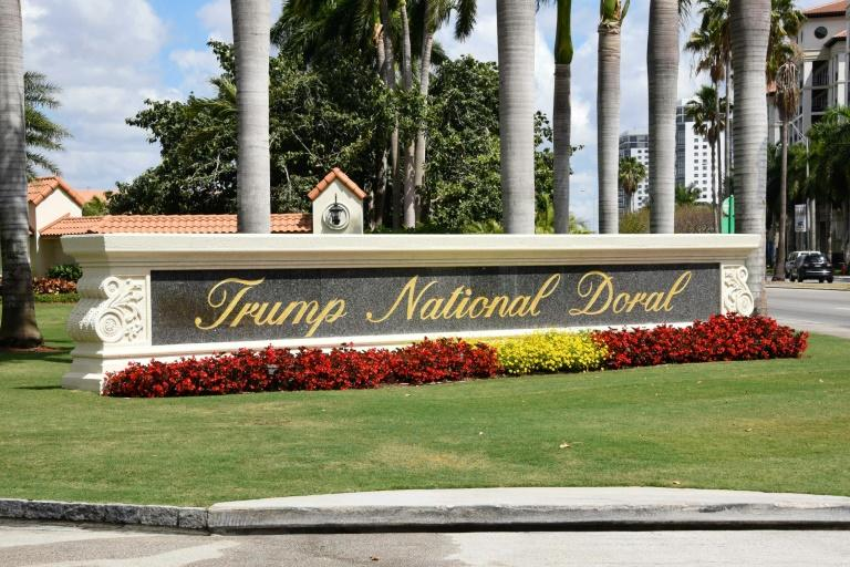 A view of the Trump National Doral resort near Miami, Florida; the president wanted to host next year's G7 meeting there but was forced to backtrack