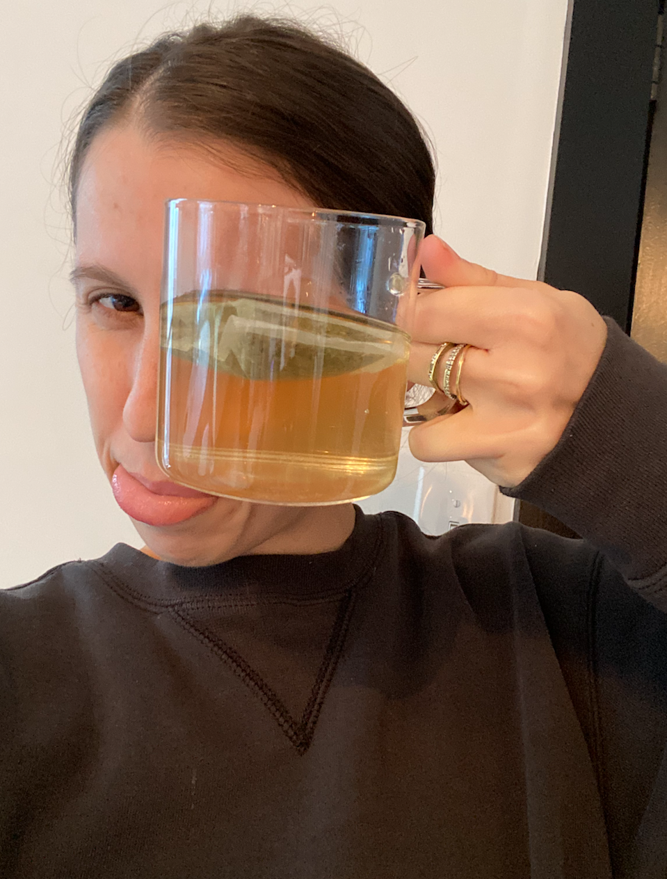 """<strong>What it did:</strong> Helped me wind-down in the evening.<br><br><strong>What it didn't do: </strong>Help me fall or stay asleep.<br><br><strong>My bedtime story:</strong> So the catnip part of this tea kind of freaked me out, but it tastes and smells like an earthy spa which totally changed my tune. This is such a nice little addition to my bedtime """"routine"""" and seems luxurious without breaking the bank. I wouldn't say it helped me fall asleep, but I felt like I was doing something nice for myself — which I think is just as important these days, right?<br><br><strong>Who it's best for</strong>: Someone who doesn't necessarily have trouble with sleep, but likes an evening ritual to enhance their self-care routine <br><br><strong>Sakara</strong> Sleep Tea, $, available at <a href=""""https://go.skimresources.com/?id=30283X879131&url=https%3A%2F%2Fwww.sakara.com%2Fcollections%2Fclean-boutique%2Fproducts%2Fsleep-tea"""" rel=""""nofollow noopener"""" target=""""_blank"""" data-ylk=""""slk:Sakara"""" class=""""link rapid-noclick-resp"""">Sakara</a>"""