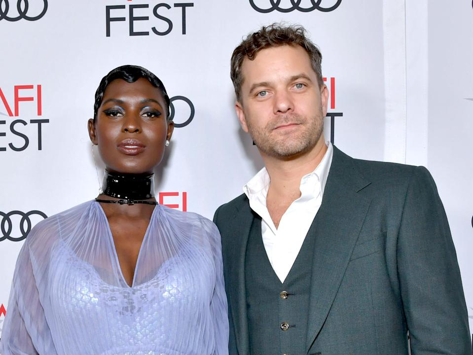 """Jodie Turner-Smith and Joshua Jackson attend the """"Queen & Slim"""" Premiere at AFI FEST 2019 presented by Audi at the TCL Chinese Theatre."""