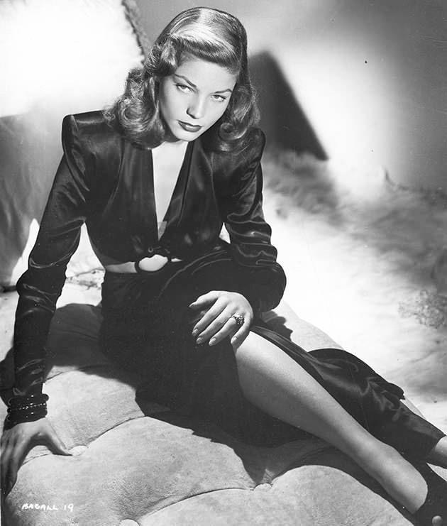 Portrait of American actress Lauren Bacall (born Betty Joan Perske), early 1940s. She was 19 years old at the time of the photographs. Photo: Getty