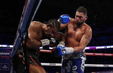 Britain Boxing - David Haye v Tony Bellew - O2 Arena, London - 4/3/17 David Haye in action against Tony Bellew Action Images via Reuters / Andrew Couldridge Livepic