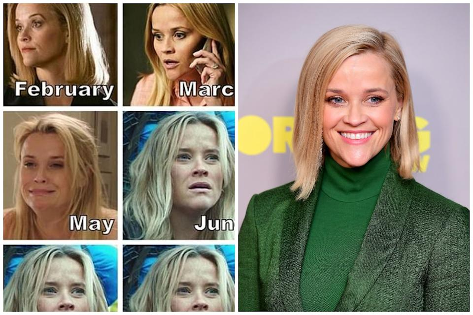 Reese Witherspoon is officially the Meme Queen: Instagram / PA