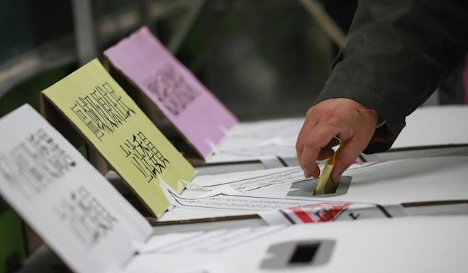 At least three people are facing fines for damaging their ballot papers. Photo: EPA-EFE