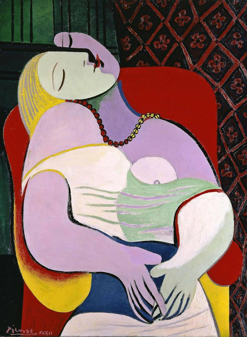 Pablo Picasso 'The Dream' (Le Rêve) 1932, Private Collection (© Succession Picasso/DACS, London 2018)