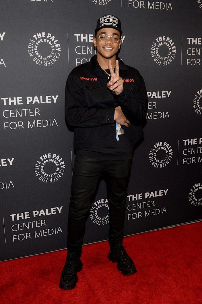 Michael Rainey Jr. attends the Power Series Finale Episode Screening at Paley Center on February 07, 2020 in New York City. (Photo by Brad Barket/Getty Images for STARZ)