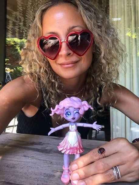 PHOTO: Nicole Richie poses with a Chix Fashion collectible toy. (via Nicole Richie)
