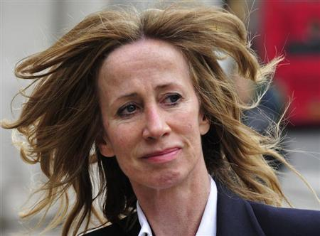 Michelle Young arrives at The Royal Courts of Justice in London April 13, 2011. REUTERS/Toby Melville