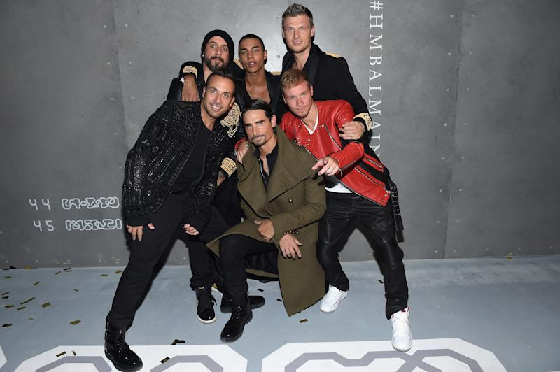 The Backstreet Boys Just Helped a Fan Propose with an Impomptu Serenade
