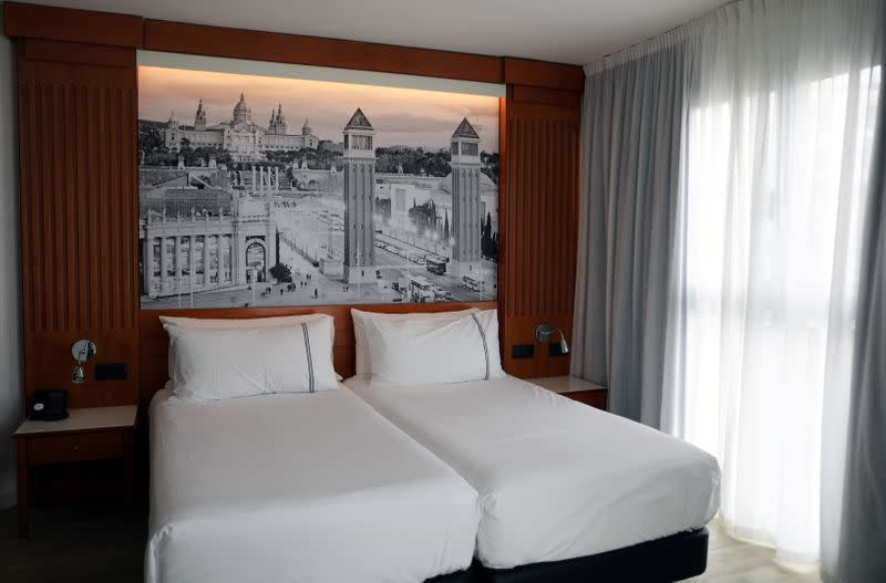 Bargain-hungry investors circle Spain's beleaguered hotels