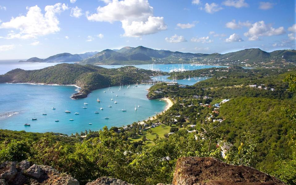 Antigua welcomes around 90,000 Britons in a normal year - getty