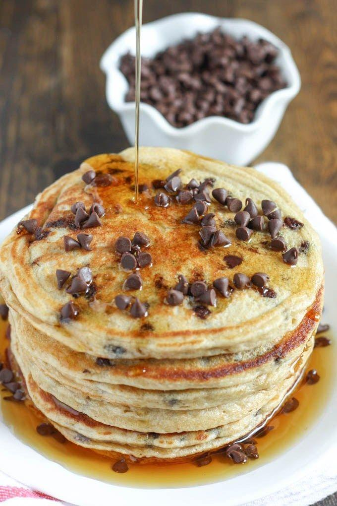 "<p>BRB, setting my alarm for an ungodly early hour.</p><p>Get the recipe from <a href=""http://www.livewellbakeoften.com/2015/06/08/chocolate-chip-greek-yogurt-pancakes/"" rel=""nofollow noopener"" target=""_blank"" data-ylk=""slk:Live Well Bake Often"" class=""link rapid-noclick-resp"">Live Well Bake Often</a>.</p>"