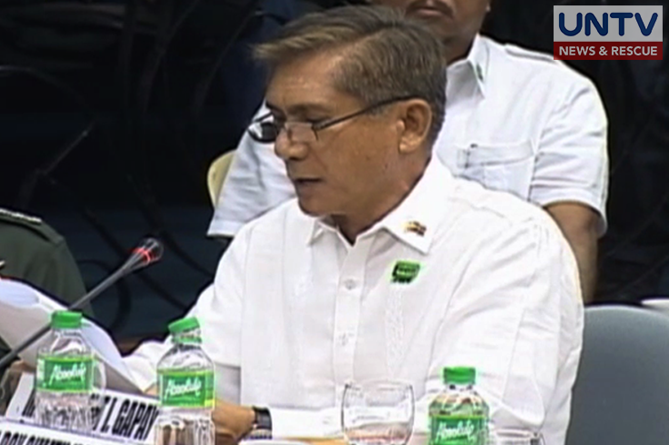 Former Armed Forces of the Philippines Chief of Staff Roy Cimatu