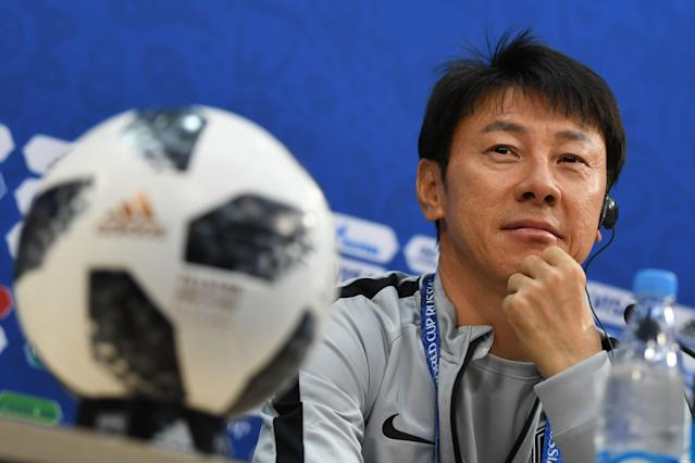 South Korean manager Shin Tae-yong (Getty).