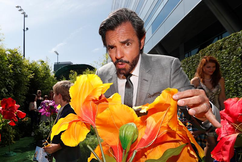 "Actor Eugenio Derbez poses for photo at the premiere for the movie ""Dora and the Lost City of Gold"" in Los Angeles, California, U.S., July 28, 2019. REUTERS/Mario Anzuoni"