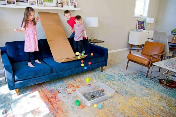 PHOTO: The Ball Ramp is an easy, simple, affordable way to let kids explore physics from all angles, according to Allison. (Courtesy of Susie Allison/BusyToddler)