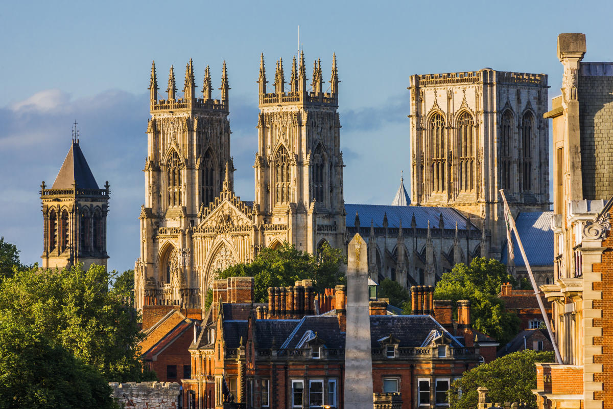 York voted Britons' most popular city - ahead of London