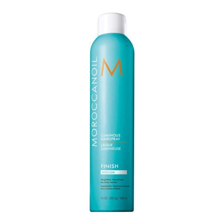 "<p>Unless you're up against 50 mph winds, any 'strong-hold' hairspray will do, but Moroccanoil's Luminous Hairspray (which actually smells nice for a change) stays put <em>and </em>is super<em>-</em>easy to brush out. Mind blown. </p><p><a href=""http://www.feelunique.com/p/Moroccanoil-Luminous-Hairspray-Strong-330ml"" rel=""nofollow noopener"" target=""_blank"" data-ylk=""slk:Feelunique"" class=""link rapid-noclick-resp"">Feelunique</a> - £17.25</p>"