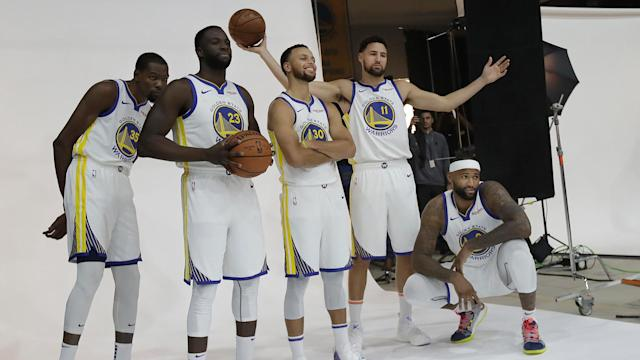 <p>If you're going to use the Warriors in NBA 2K19, don't do it in a game against your friends. </p>