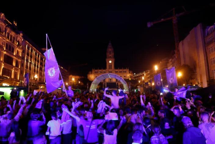 Champions League - Fans in Porto after the Champions League Final Manchester City v Chelsea