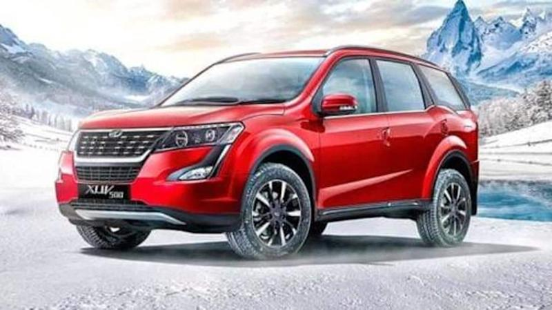 Ahead of launch in India, new-generation Mahindra XUV500 spotted testing