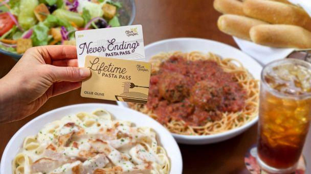 PHOTO: Olive Garden announced it will sell 50 lifetime pasta passes. (Olive Garden)