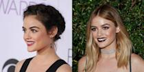 """<p>Another """"Pretty Little Liars"""" star is giving us some serious hair shade! Hale debuted her blonde tresses after the """"PLL"""" wrap-up. <i> (Photos: Getty/October 2016) </i> </p>"""