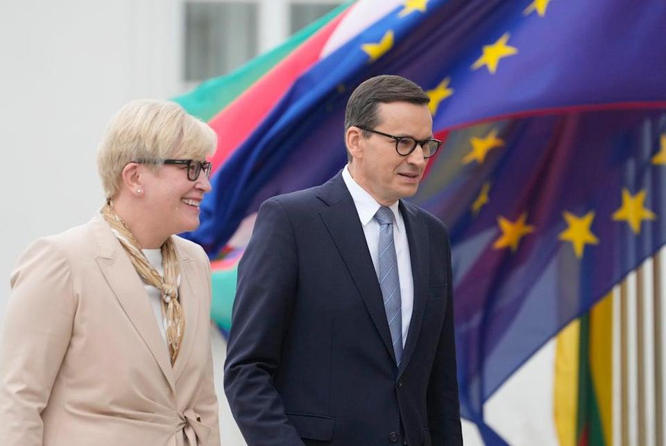 Poland Lithuania (Copyright 2021 The Associated Press. All rights reserved)