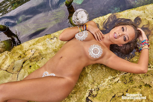 <p>Mia Kang was photographed by Ruven Afanador in Mexico. </p>