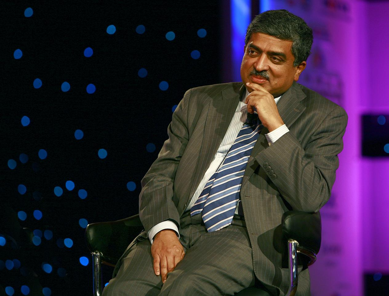 <p>Nandan Nilekani (62): Infosys co-founder and tech billionaire Nandan Nilekani and his wife Rohini Nilekani have joined 'The Giving Pledge', an elite network of the world's wealthiest individuals committing half their wealth to philanthropy. The Giving Pledge was created by Bill and Melinda Gates and Warren Buffett in August 2010. The Nilekanis have now decided to give away half their wealth for altruism. </p>