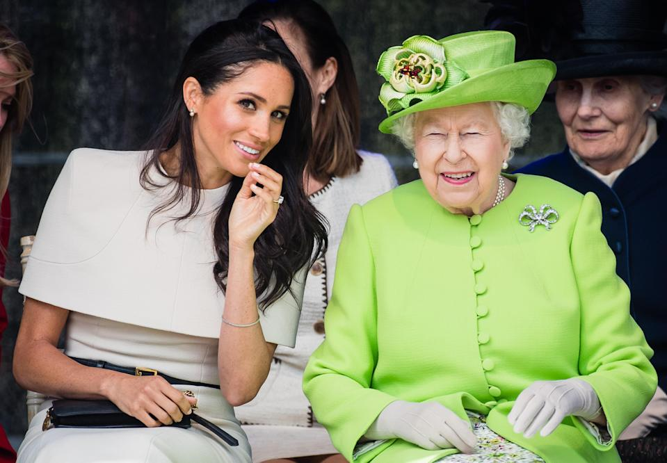 The Queen is so close with Meghan Markle, she's apparently broken a royal tradition for her. Source: Getty