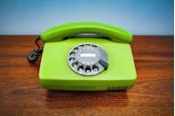"""<p>""""Many consumers like having a landline for emergencies,"""" says Woroch. """"But at an average of $40 per month, it's a lot of money to dish out on a phone you don't use often."""" Instead, she suggests switching to a free Internet home phone provider like <a href=""""http://www.ooma.com"""" rel=""""nofollow noopener"""" target=""""_blank"""" data-ylk=""""slk:Ooma"""" class=""""link rapid-noclick-resp"""">Ooma</a>. """"While there's an upfront cost to cover the device, it pays for itself in just two months. Opting for this free service will save youapproximately $480 annually.""""</p>"""