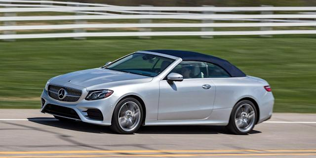 2018 Mercedes Benz E Class Coupe And Cabriolet
