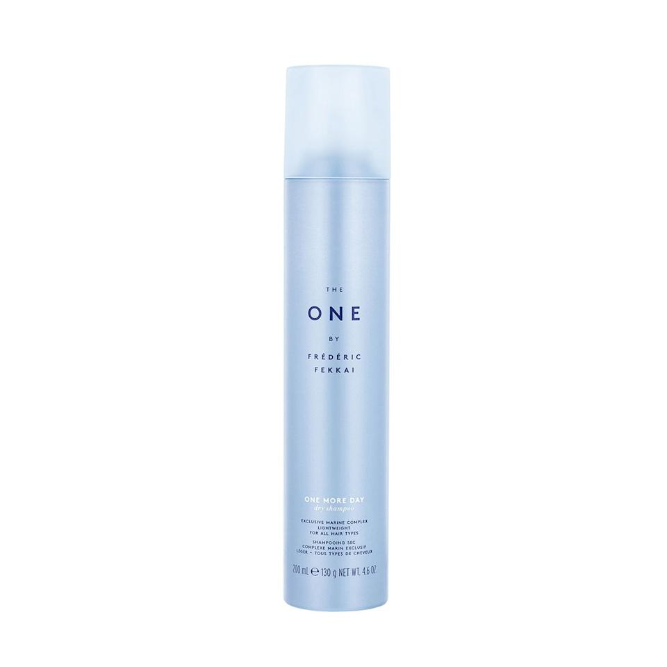 """""""My day-two hair looks as if I haven't washed it in a month. It's a curse, really, but not with The One! It absorbs oil, brushes through well on dark hair, and smells fantastic. I can get three days between washes!"""""""