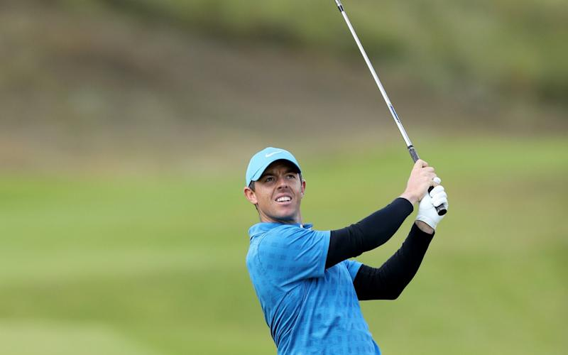 Rory McIlroy will be hoping for a better second round at Royal Portrush - David Cannon Collection