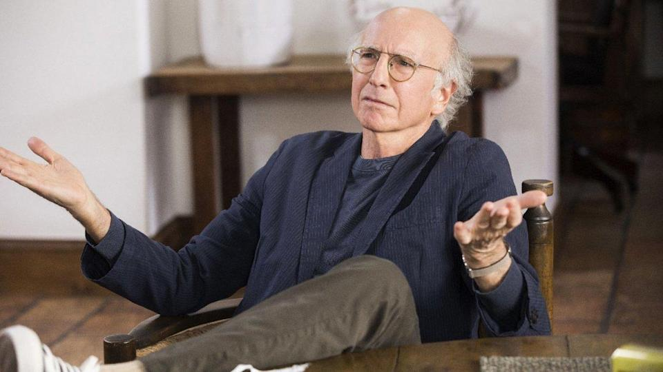 <p> <strong>Number of episodes (so far):</strong>&#xA0;100 </p> <p> According to the New York Times<em>&#xA0;</em>and daughter Cazzie&#x2019;s Instagram, Larry David thrived&#xA0;in lockdown, which makes sense. The man has made his entire career and persona off the back of being misanthropic, socially... complex, and generally shying away from any and all human contact. He&#x2019;s also very hygienic. </p> <p> Curb Your Enthusiasm<em>,&#xA0;</em>which takes Seinfeld&#x2019;s &#x201C;show about nothing&#x201D; framework even further, follows a fictional version of Larry David around as he gets into minor gripes and major fallouts with everyone he comes in contact with. It&#x2019;s funny, ridiculous, and there are ten whole seasons of it. Plus, it serves as a reminder &#x2013;&#xA0;it&#x2019;s never really worth leaving the house.&#xA0; </p>