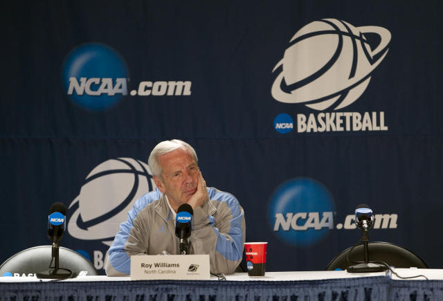 North Carolina coach Roy Williams learned Friday what penalties his program will face. (Getty)