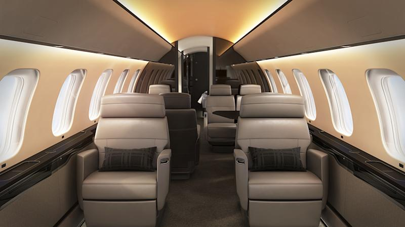 Bombardier Global 7500 Soleil Lighting System