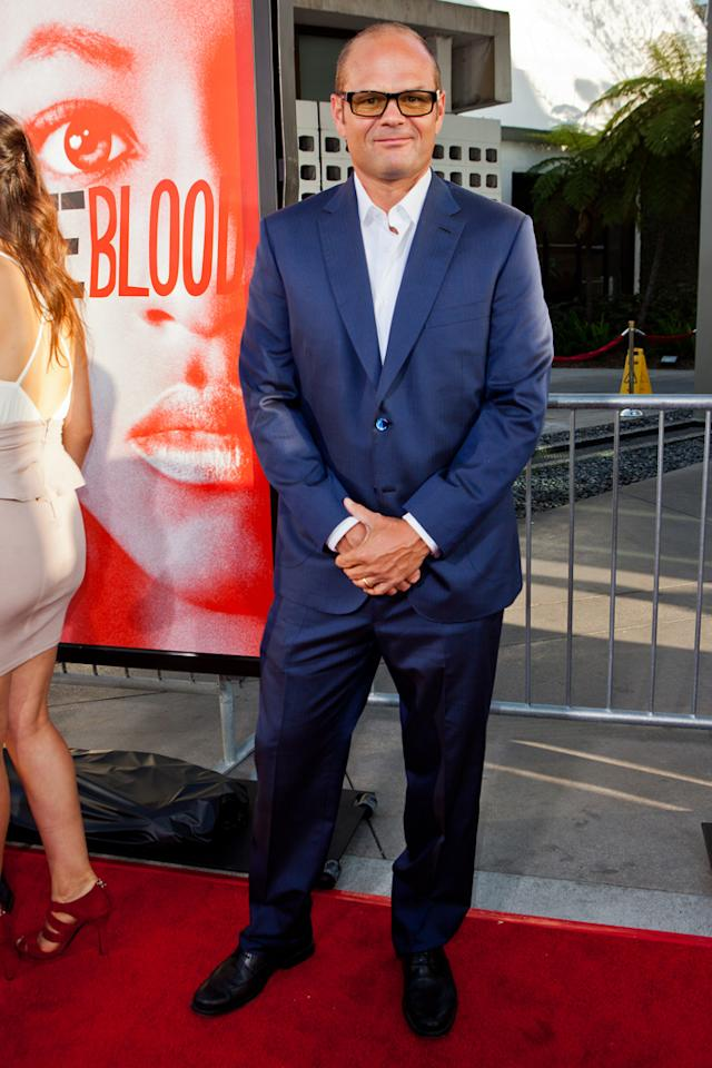 "Chris Bauer attends HBO's ""True Blood"" Season 5 Los Angeles premiere at ArcLight Cinemas Cinerama Dome on May 30, 2012 in Hollywood, California."